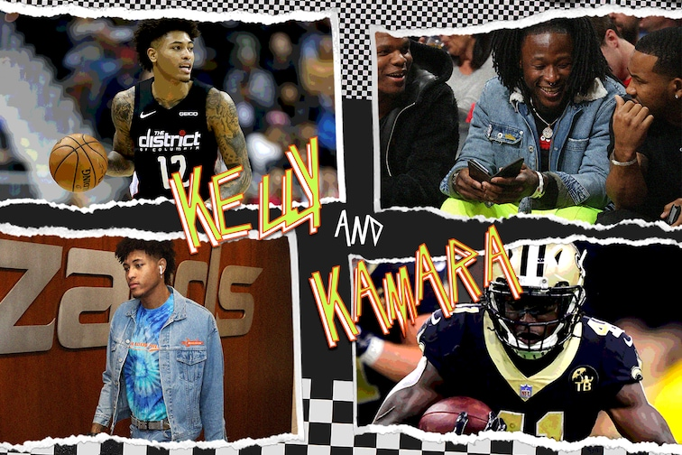 buy popular adce6 776f9 Kelly Oubre Jr. and Alvin Kamara: New Orleans's unique sons ...