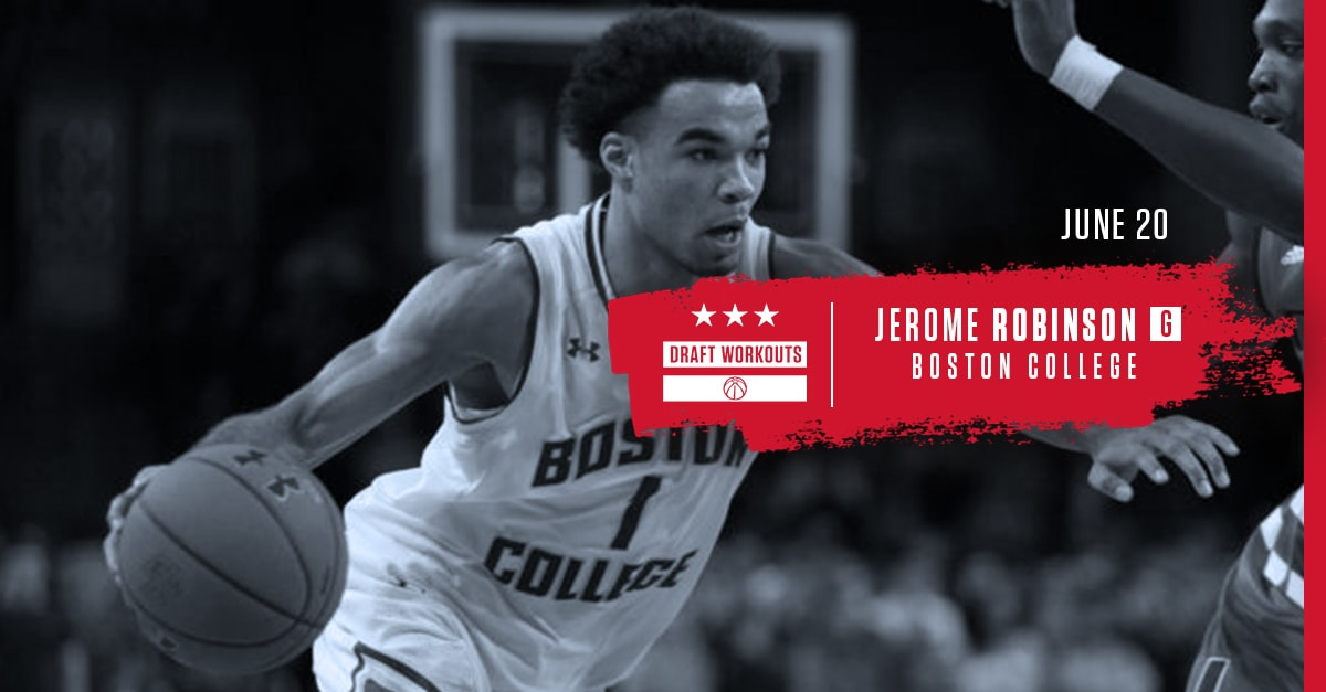Wizards Draft Workouts - Jerome Robinson 62018
