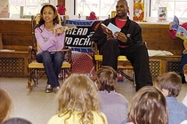 Antawn and Ione Jamison Lead Reading Session - Photos