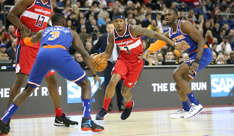 Wizards victorious in London, 101-100