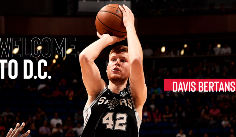 Wizards acquire Davis Bertans from Spurs