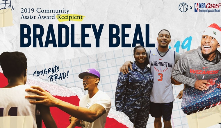 Bradley Beal Wins 2019 NBA Community Assist Award