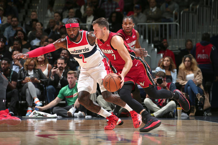 Wizards drop season opener to visiting Heat