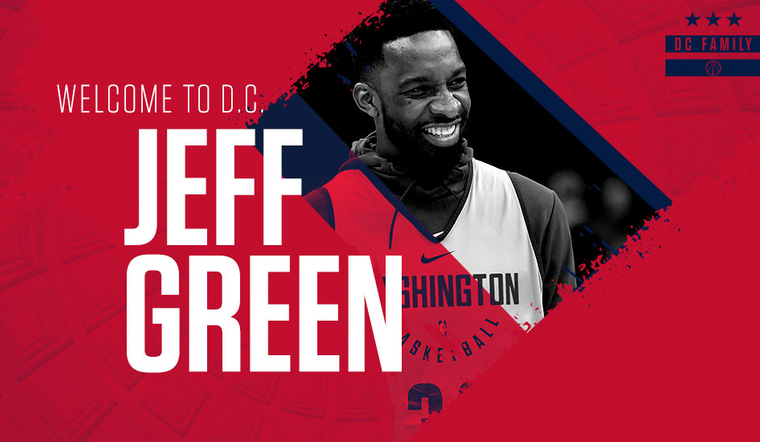 Wizards Sign Jeff Green