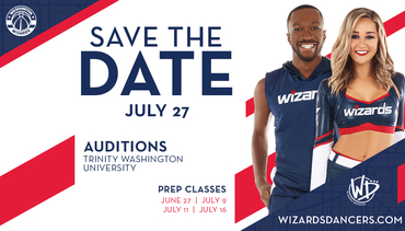 Wizards Dancers Prep Classes