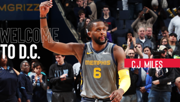 Wizards acquire C.J. Miles from Memphis
