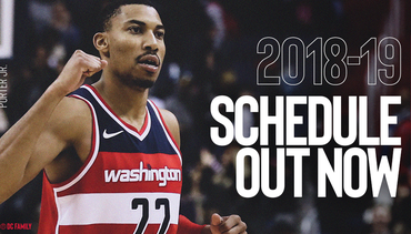 2018-19 Wizards Schedule