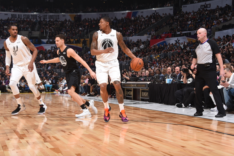 Photos: Bradley Beal in the 2018 All-Star Game