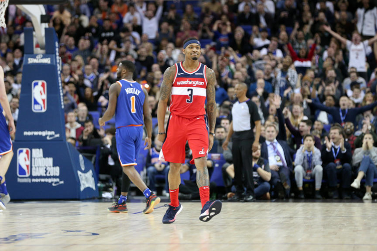 Goaltending call gives Wizards last-second win over Knicks