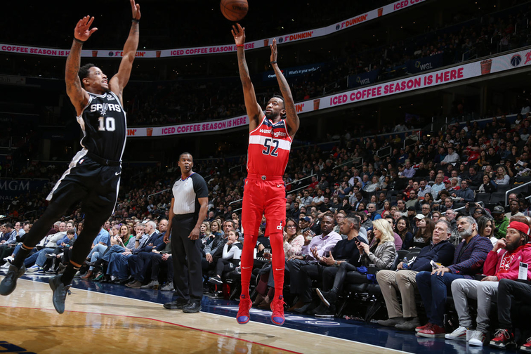 San Antonio Spurs v Washington Wizards