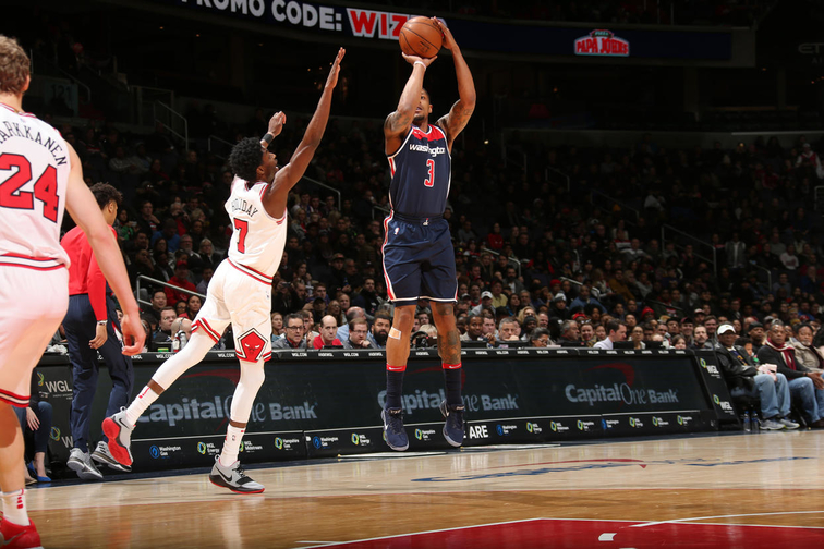 Bradley Beal unloads 39 points in Wizards' Sunday win
