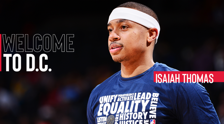 Image result for isaiah thomas wizards