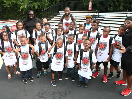 John Wall's 5th Annual D.C. Backpack Giveaway