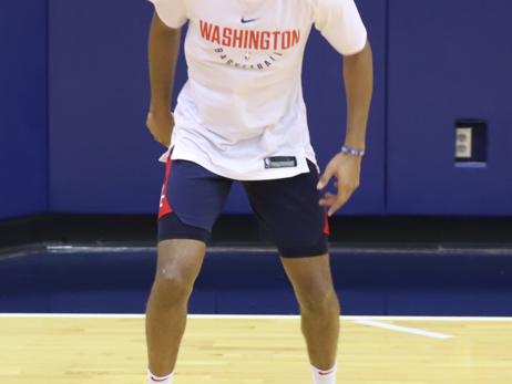 Photos: Wizards working out in D.C.