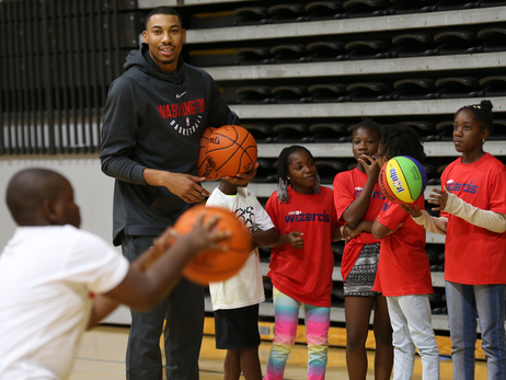 Jr. NBA Clinic in Richmond - 9/28/17