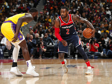 Wall's 40 points lead Wizards past Lakers, 128-110