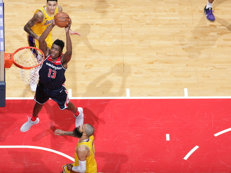 Wizards begin trip out West against Lakers
