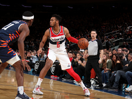 Wizards fall in fourth quarter to Knicks, 113-110
