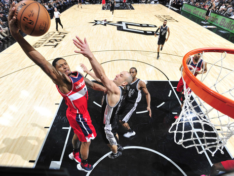 Wizards make quick trip to San Antonio