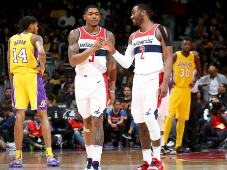 Wizards get first look at LeBron's Lakers on Sunday