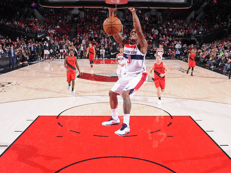 Wizards start West Coast swing in Portland