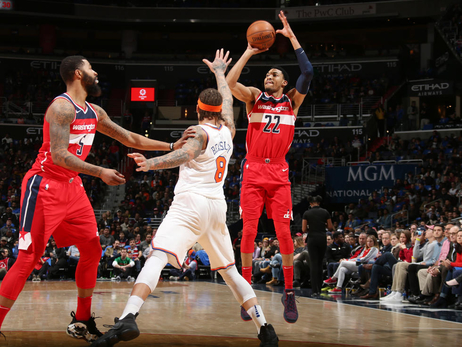 Wizards fall to Knicks, 101-97