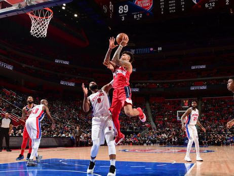 Wizards stymied by Pistons in second half, 103-92