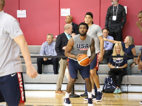 Photos: John Wall at Team USA Minicamp 2018