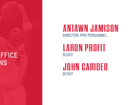 Wizards name Jamison director of pro personnel