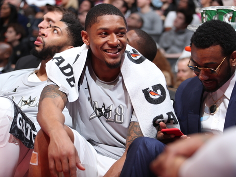 Wizards backcourt takes in All-Star weekend