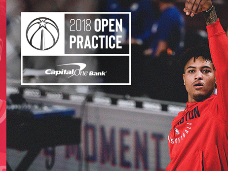 Wizards to host Open Practice Presented by Capital One Bank