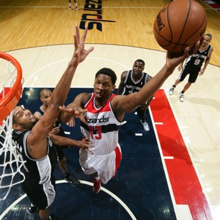 Shots of the Game: Wizards vs. Spurs