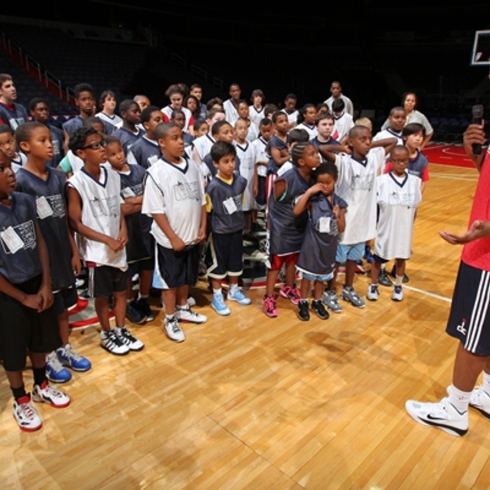 Bradley Beal at Summer Camp