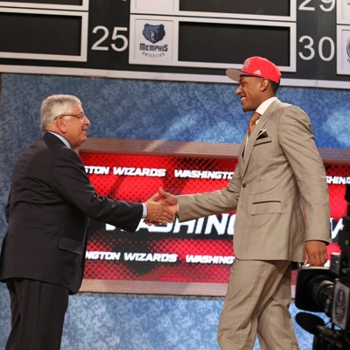 Beal at the NBA Draft