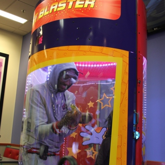 John Wall at Chuck E. Cheese's