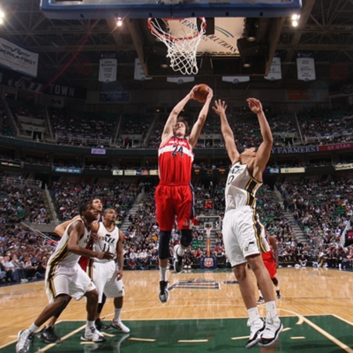 Shots of the Game: Wizards vs. Jazz