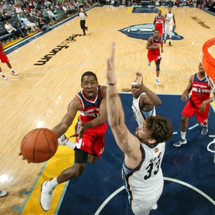 Shots of the Game: Wizards vs. Grizzlies