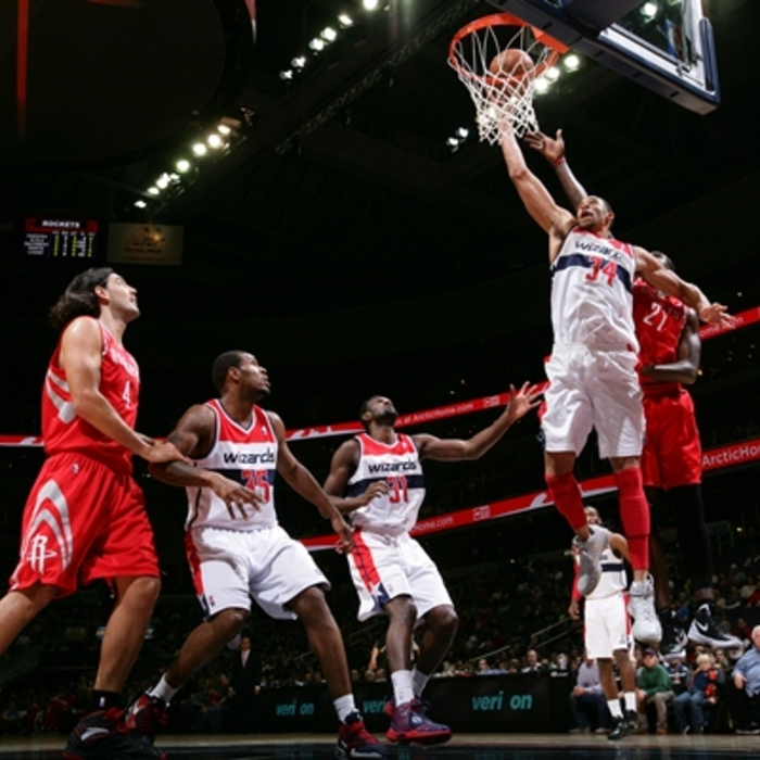 Shots of the Game: Wizards vs. Rockets