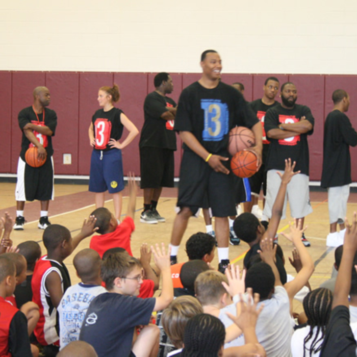 Caron Butler 3D Basketball Camp