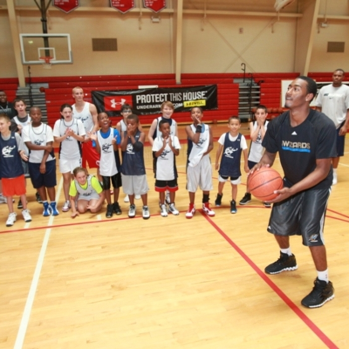 Wizards Basketball Camp Presented By Under Armour