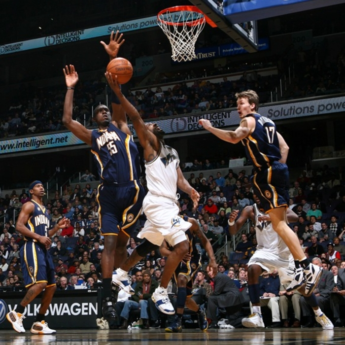 Shots of the Game: Wizards vs. Pacers