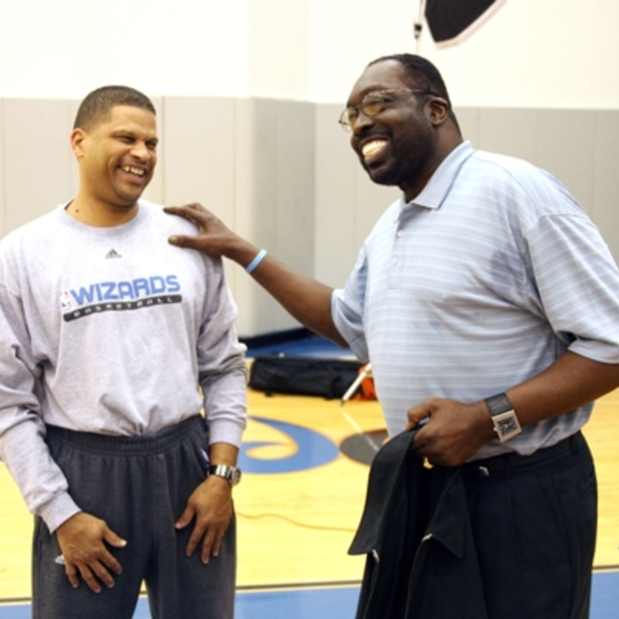 Photo Gallery: Earl Monroe Jersey Retirement Press Conference