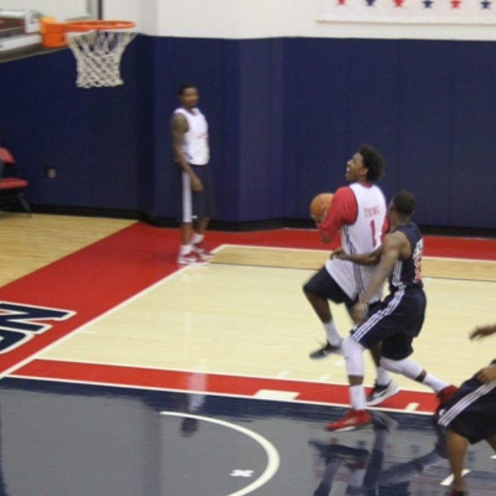 Nick Young at Practice