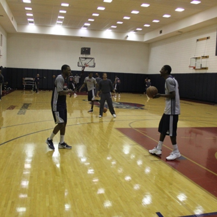 Monday's Practice in Cleveland