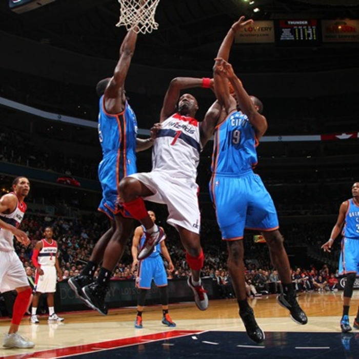 Shots of the Game: Wizards vs. Thunder