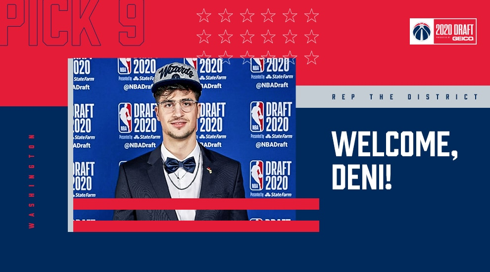 Deni Avdija on joining Wizards: 'I have the honor to represent Israel'
