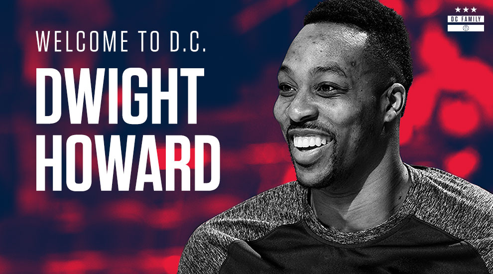 Wizards sign Dwight Howard