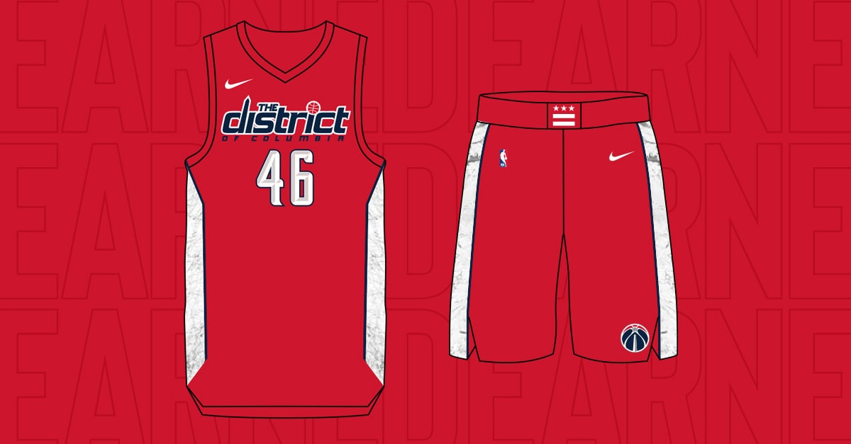 Wizards x Nike: Earned Edition Jersey | Washington Wizards