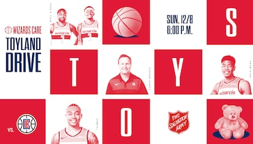 Wizards Care Toyland Drive - 12/8 vs. LAC