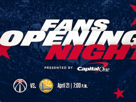 Wizards to host Fans Opening Night presented by Capital One